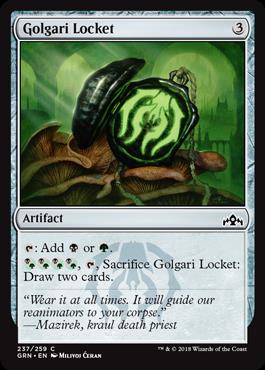 Golgari Locket card image
