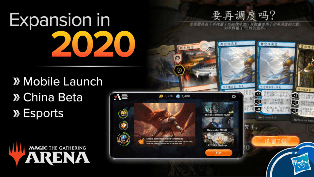 MTG Arena NY Toy Fair 2020 expansion slide