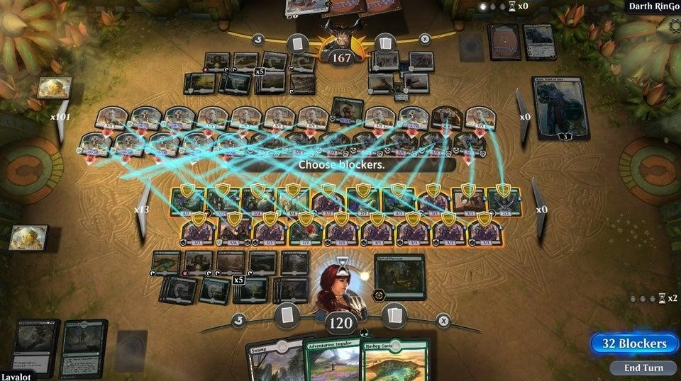 MTG Arena crowded board state