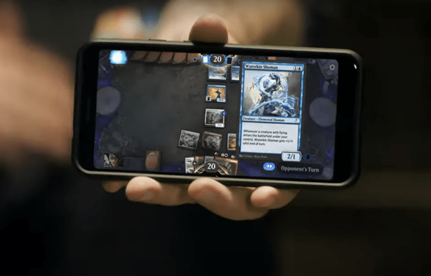 MTG Arena mobile app example