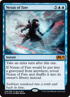 Nexus of Fate MTG instant card