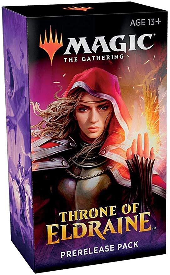 throne of eldraine prerelease pack
