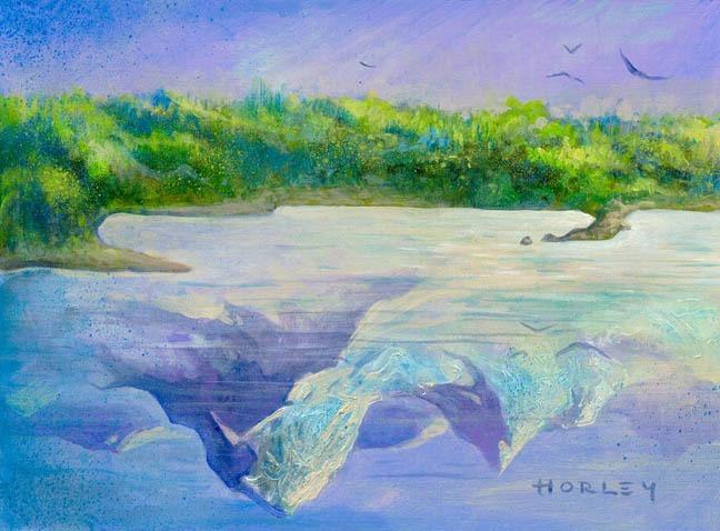 Shifting Borders MTG card art by Alex Horley Orlandelli