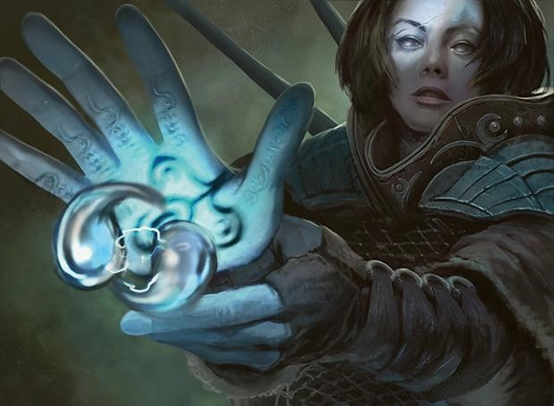 Think Twice MTG card art by Anthony Francisco