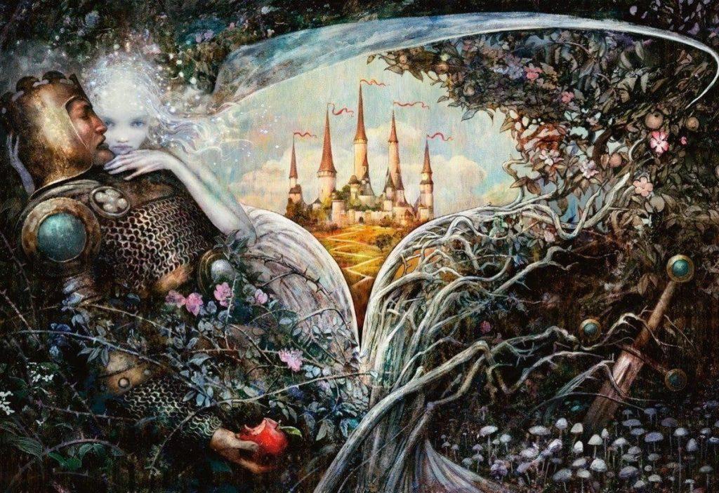 Throne of Eldraine MTG art