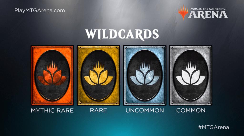 MTG: Arena Wildcards art