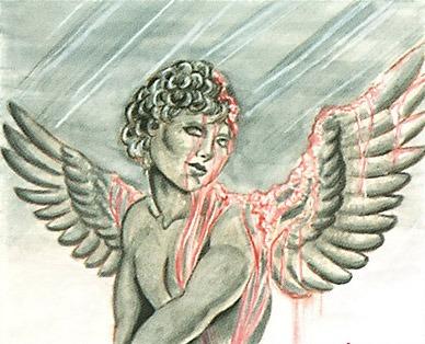 Acid Rain MTG card art by Nene Thomas