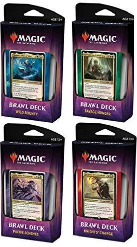 Throne of Eldraine paper MTG Brawl decks