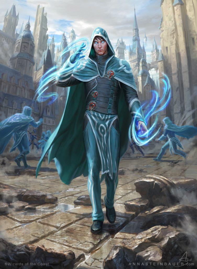 Jace, Wielder of Mysteries MTG card art by Anna Steinbauer