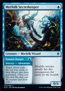 Merfolk Secretkeeper
