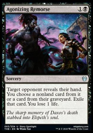 Agonizing Remorse MTG card