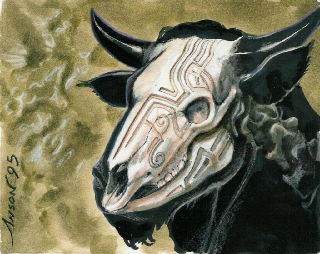 Anaba Ancestor MTG card art by Anson Maddocks