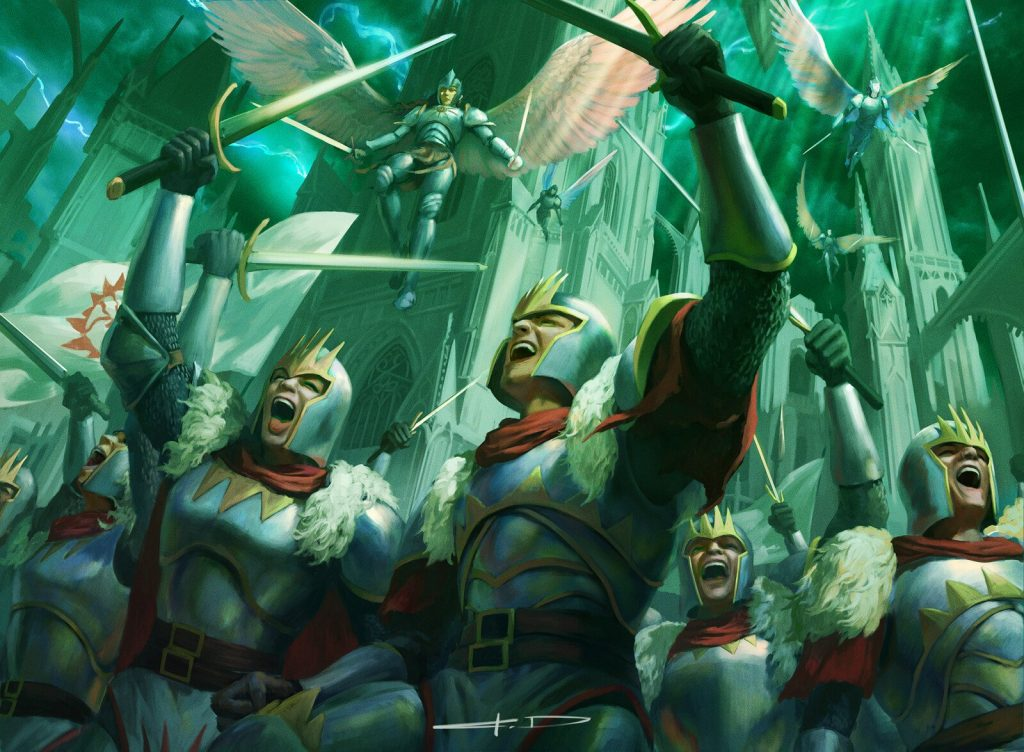 Finale of Glory MTG card art by Stanton Feng