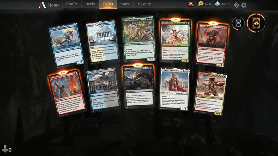 MTG Arena new card update