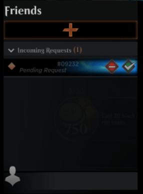 MTG Arena pending friend request