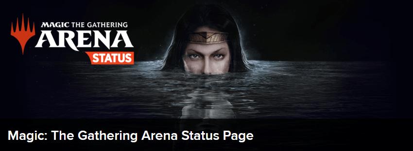 MTG Arena status page