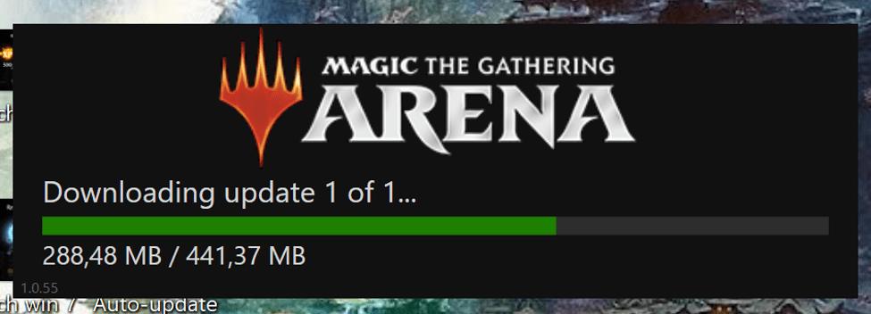 MTG Arena update download
