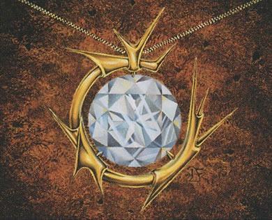 Mox Diamond MTG card art by Dan Frazier