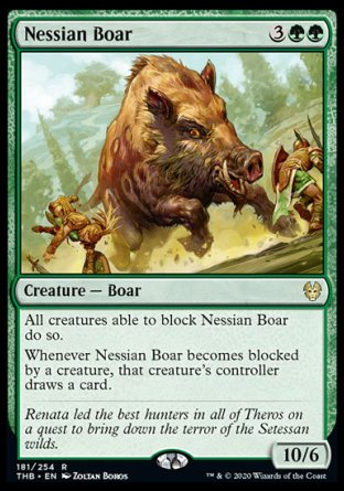 Nessian Boar MTG card