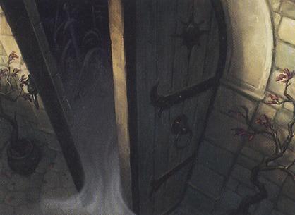 Open the Vaults MTG card art by Brian Despain