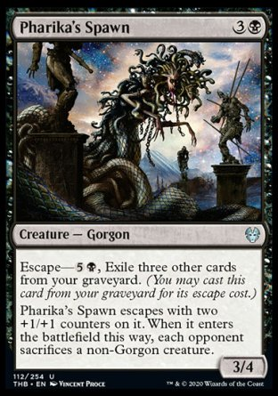Pharika's Spawn MTG card