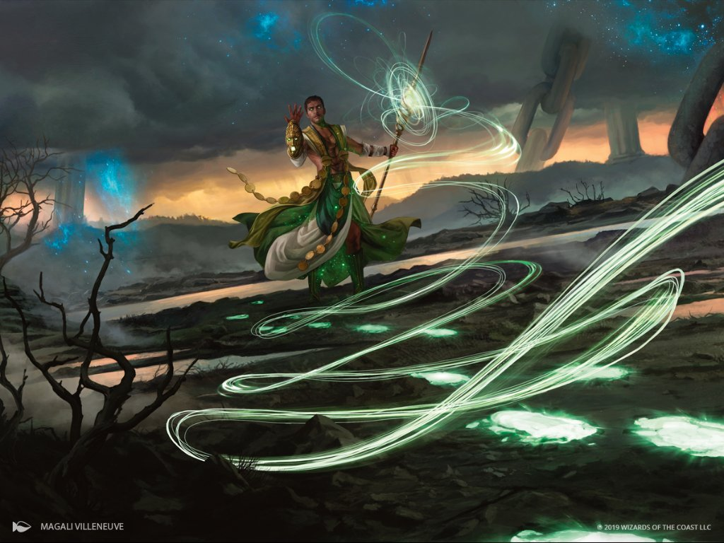 Relentless Pursuit MTG card art by Magali Villeneuve