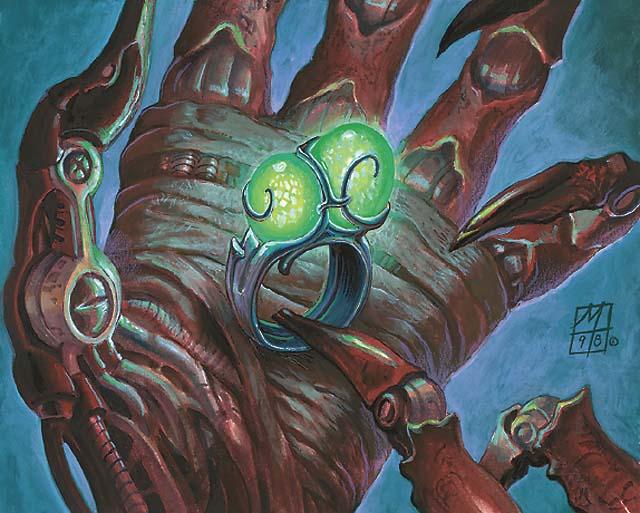 Ring of Gix MTG card art by Mark Tedin