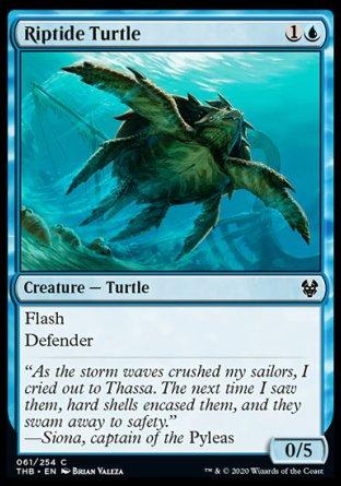 Riptide Turtle MTG card