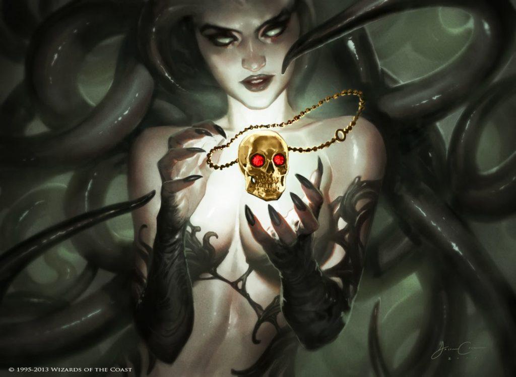Treasured Find MTG card art by Jason Chan