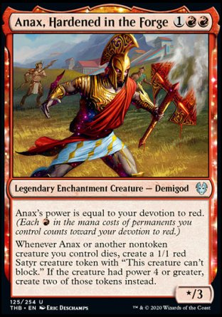 Anax, Hardened in the Forge MTG card