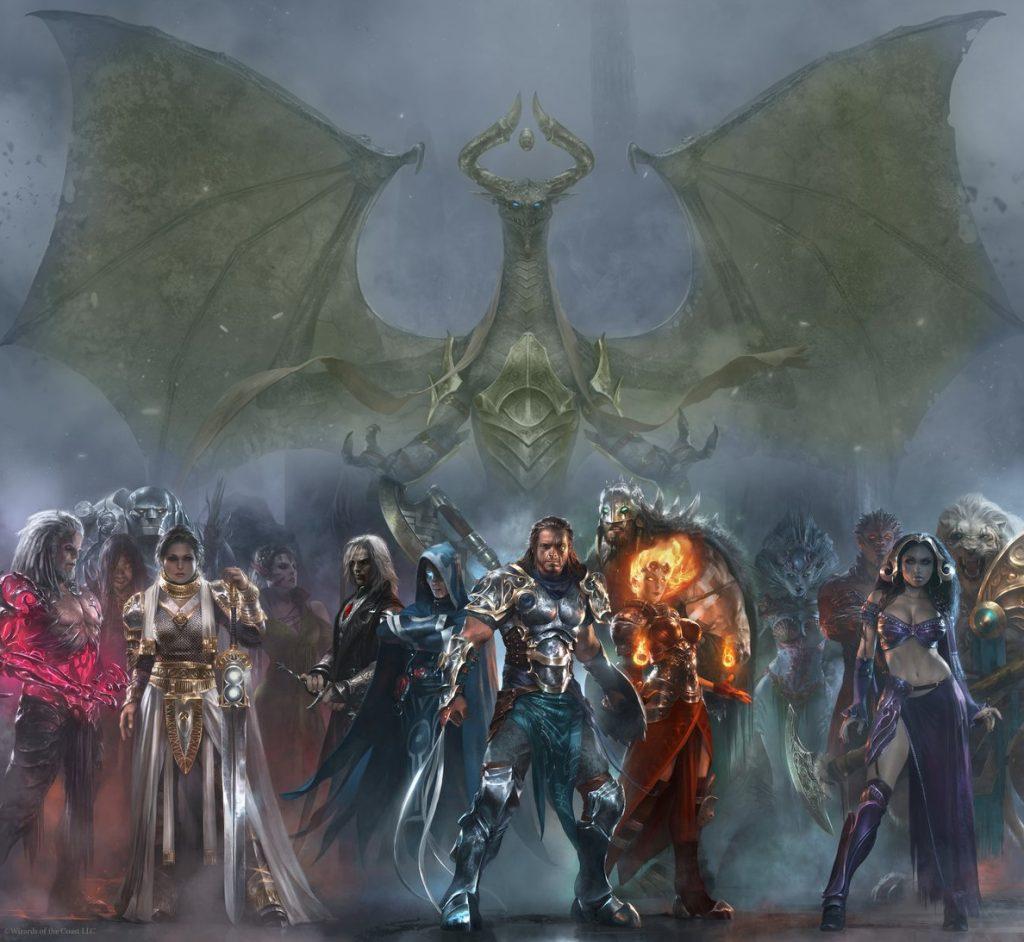 Cryptic Studios Magic Legends MMORPG art