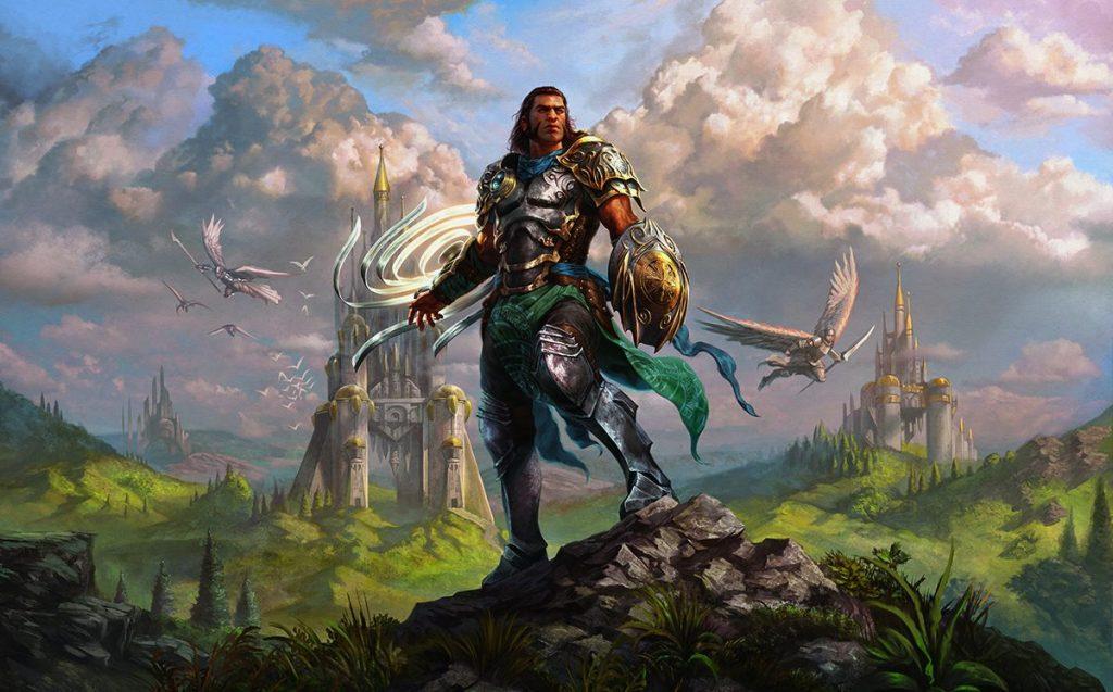 Gideon, Battle-Forged MTG card art by Willian Murai