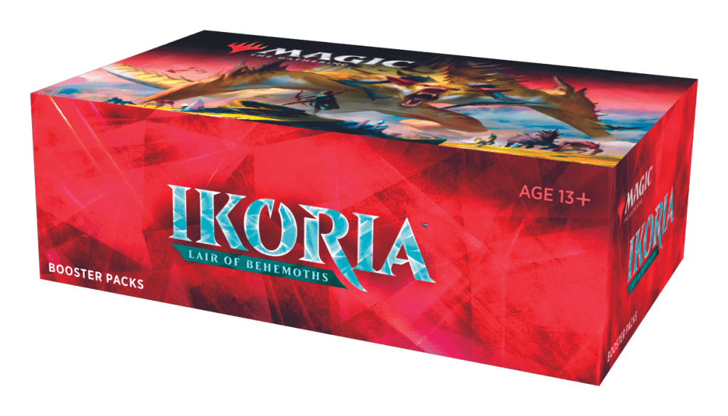 Ikoria Lair of Behemoths MTG booster pack box