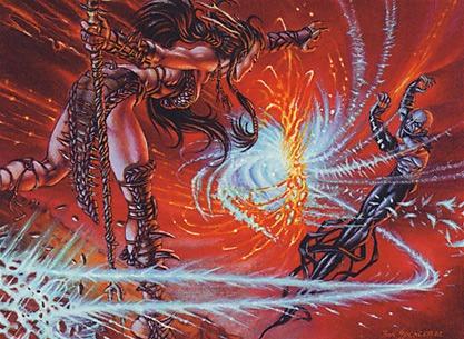 Mana Clash MTG card art by Ron Spencer