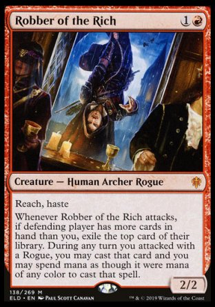 Robber of the Rich MTG card