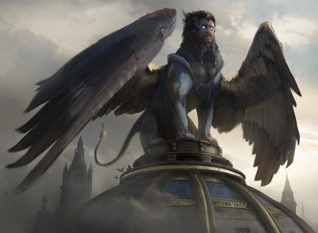 Sphinx of Foresight MTG card art by Titus Lunter