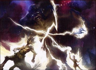 Storm's Wrath MTG card art by Yeong Hao Han