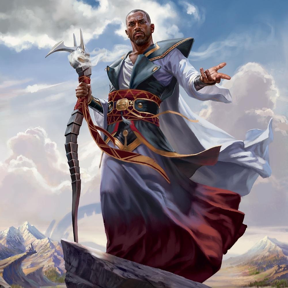 Teferi, Hero of Dominaria MTG card art by Chris Rallis