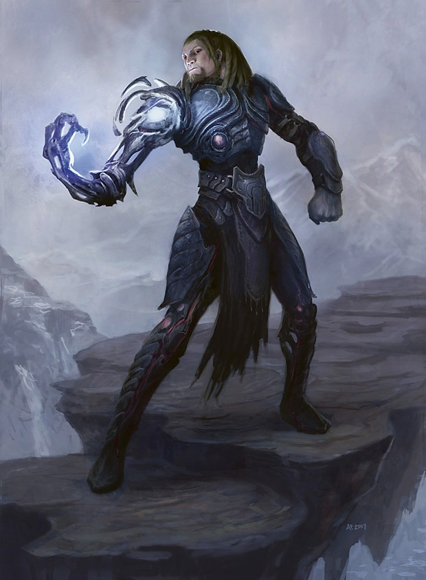 Tezzeret the Seeker MTG card art by Anthony Francisco