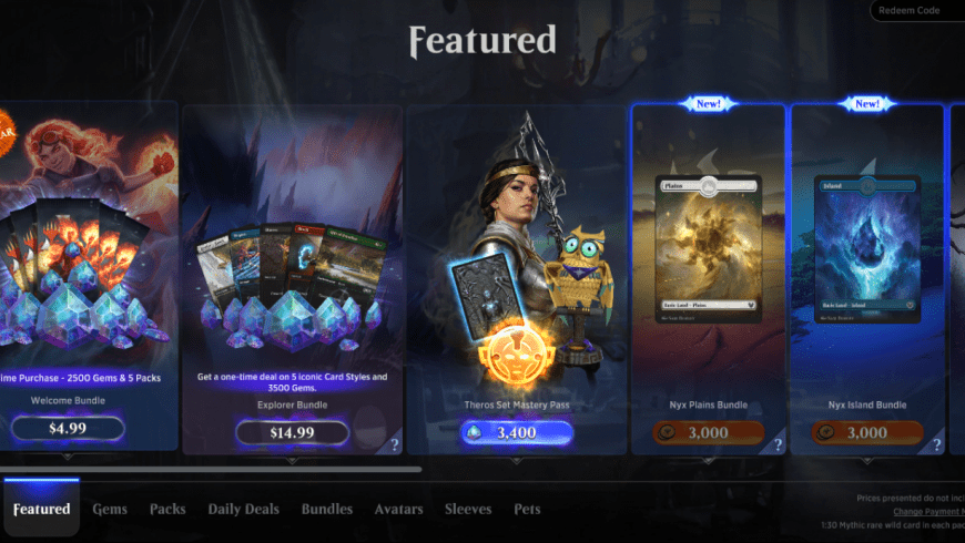 MTG Arena Welcome Bundle: Is it Worth It?