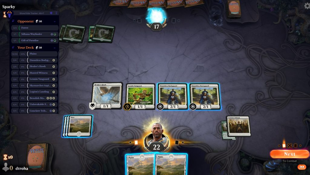 Arena Tutor's Deck Tracker automatically launches when you start a game