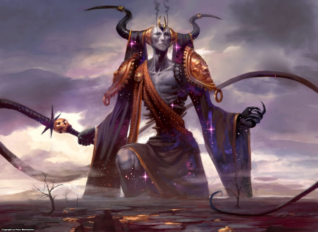 Erebos, God of the Dead MTG card art by Peter Mohrbacher