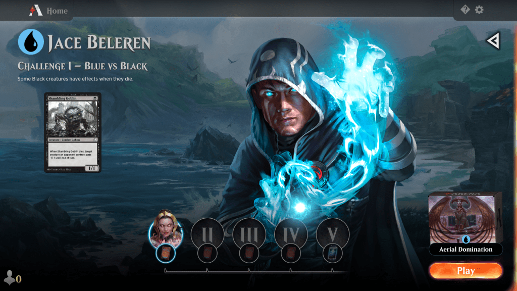 MTG Arena Blue Color Challenge 1
