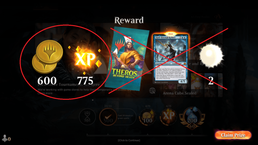 How Do Daily Rewards Work in MTG Arena?