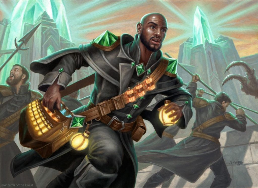 Drannith Healer MTG card art by Scott Murphy