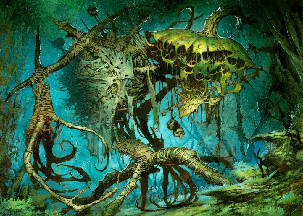 Reaper King MTG card art by Jim Murray
