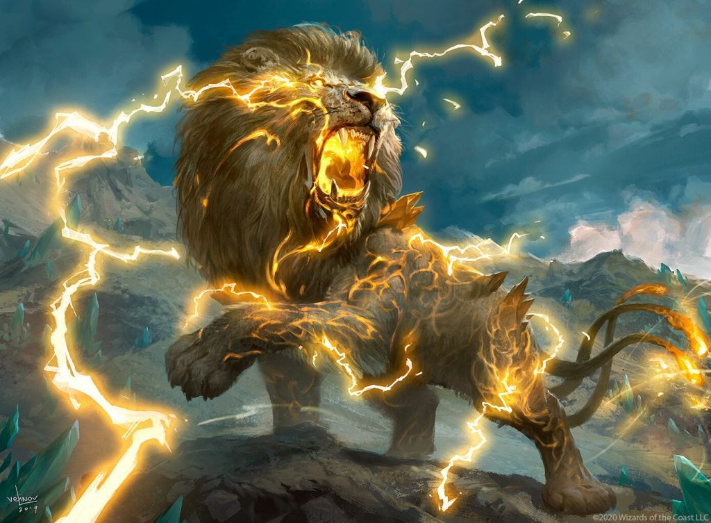 Savai Thundermane MTG card art by Svetlin Velinov