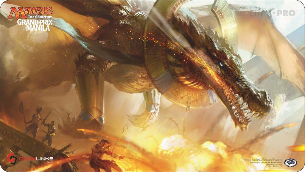 UltraPro dragon playmat
