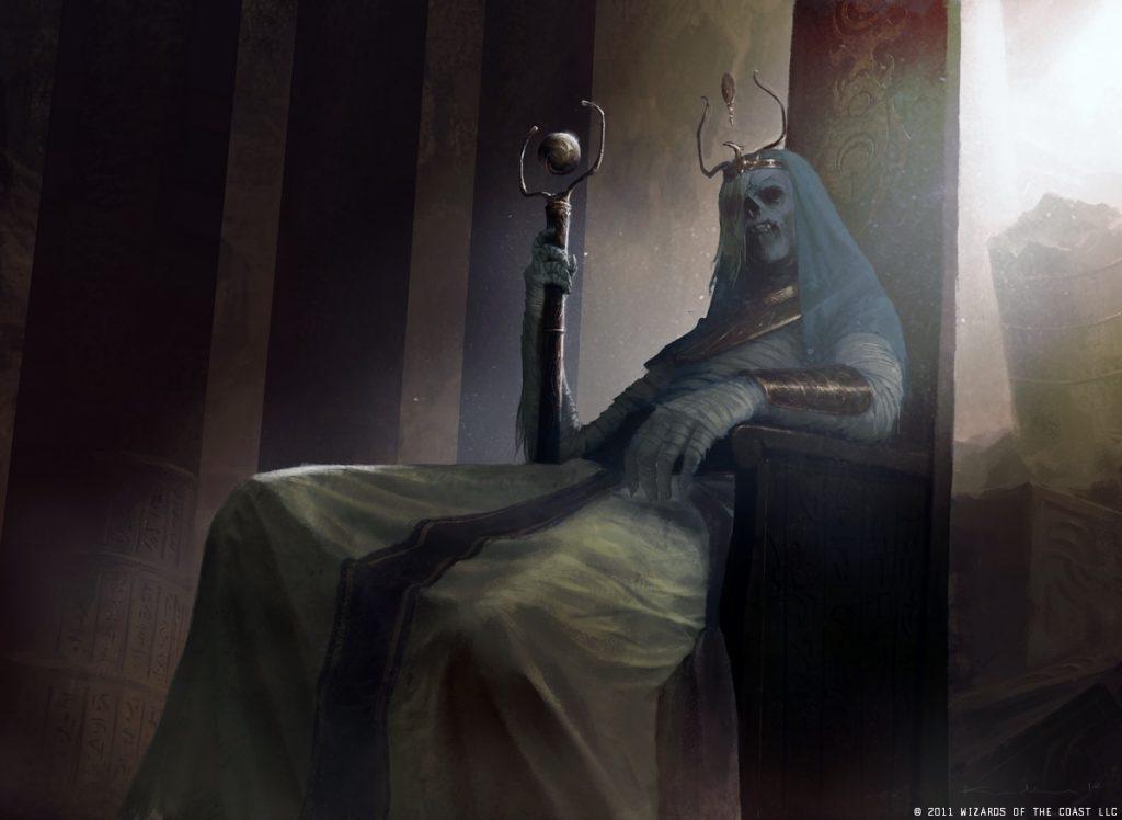 Vengeful Pharaoh MTG card art by Igor Kieryluk