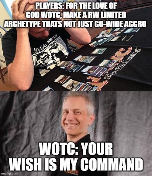 WotC meme